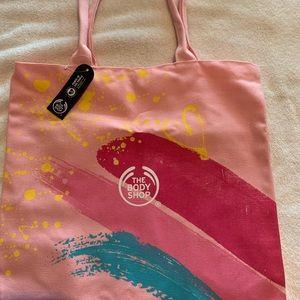 Body Shop canvas tote bag